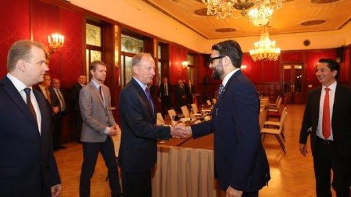 Николай Патрушев и Хамдулла Мохиб. Фото: scrf.gov.ru