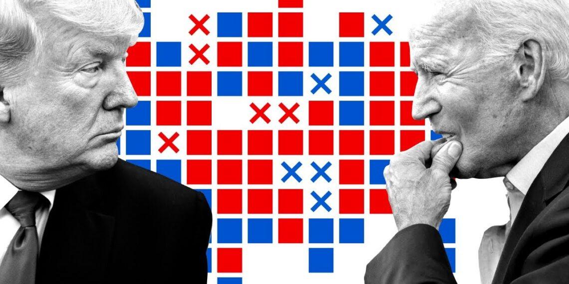 Дональд Трамп и Джозеф Байден. Иллюстрация: telegraph.co.uk